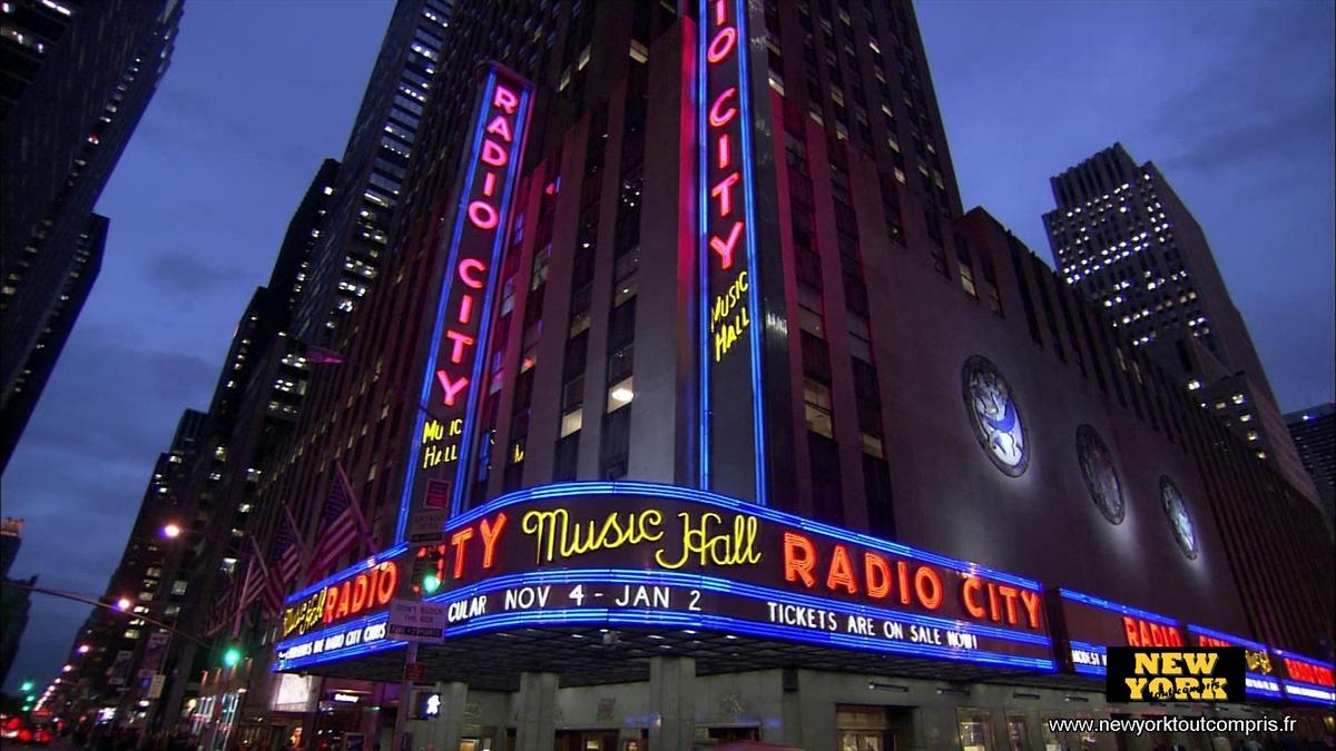 Radio City Music Hall à New York - Visite & Photos